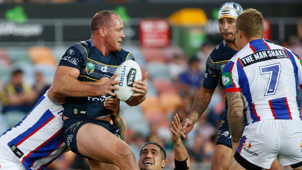 North Queensland Cowboys prop Matt Scott.