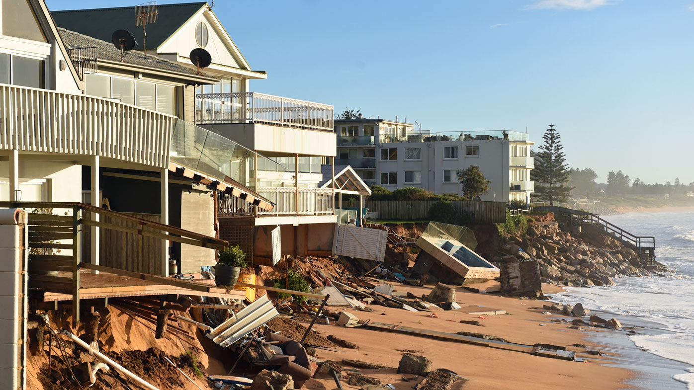 Anxious wait for owners of severely storm-damaged homes in Sydney's north