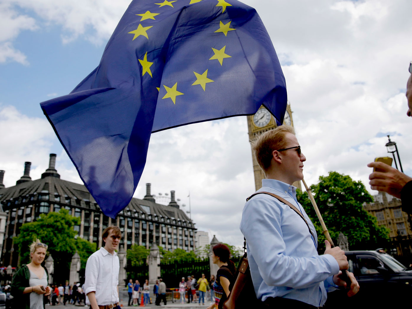Shocked EU tells Britain to leave quickly