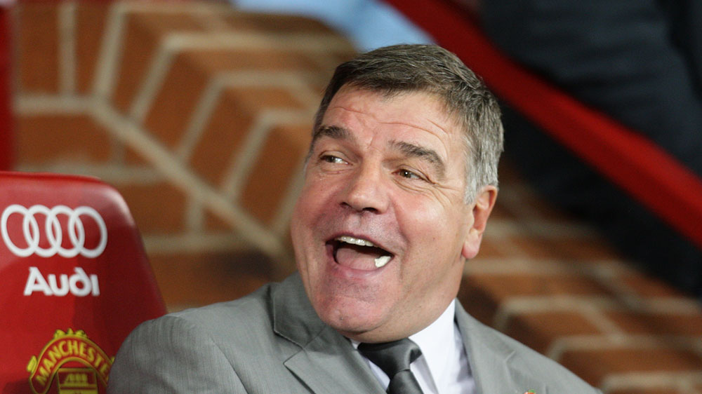 New England boss Sam Allardyce (AAP)