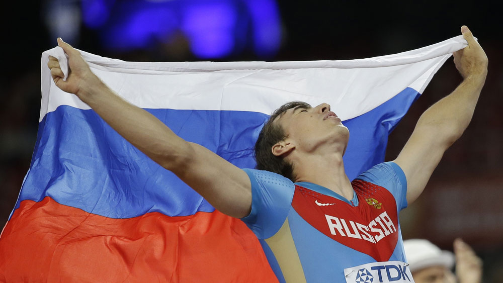 Hurdling world champion Sergey Shubenkov will compete in Moscow. (AAP)