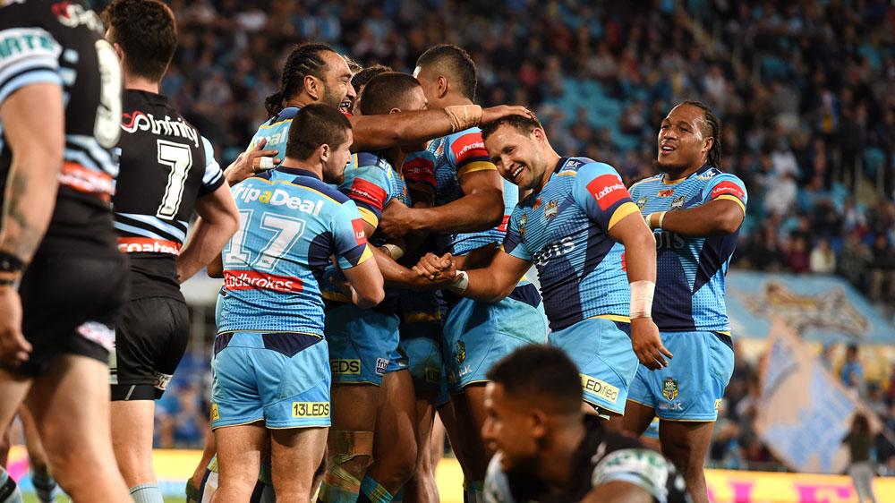 Titans end Sharks' winning streak in epic