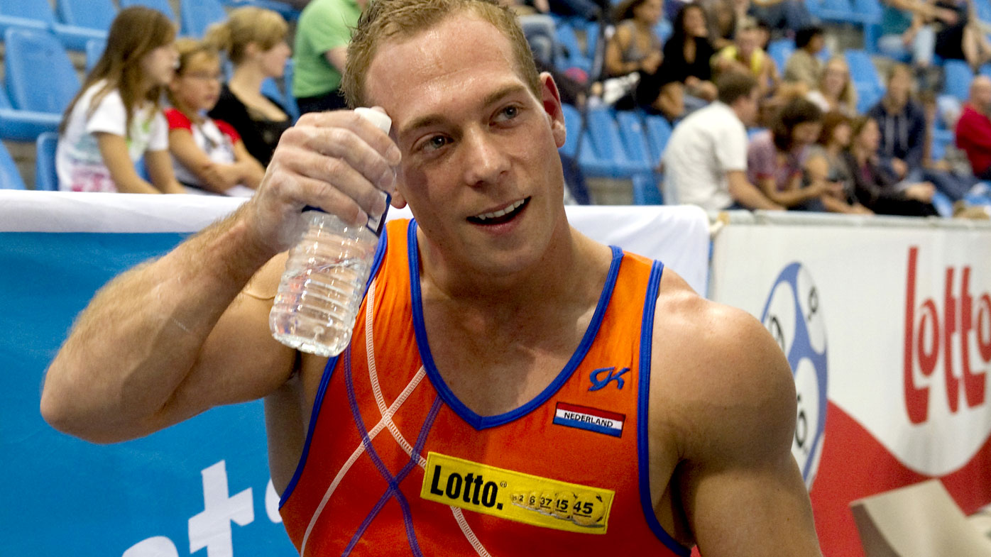 A file photograph of Dutch gymnast Yuri van Gelder. (AFP)