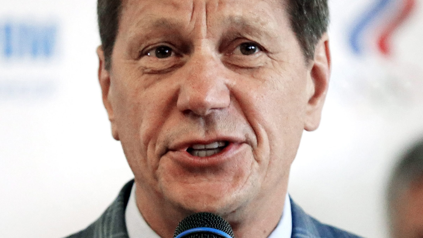 President of the Russian Olympic Committee Alexander Zhukov. (AAP)