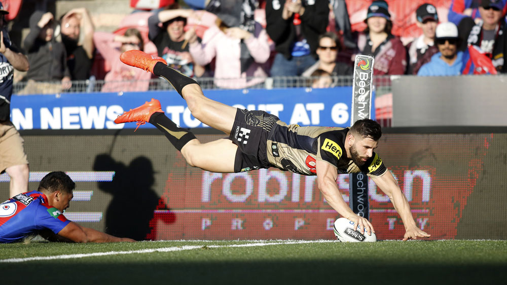 Penrith outclass hapless Knights in NRL