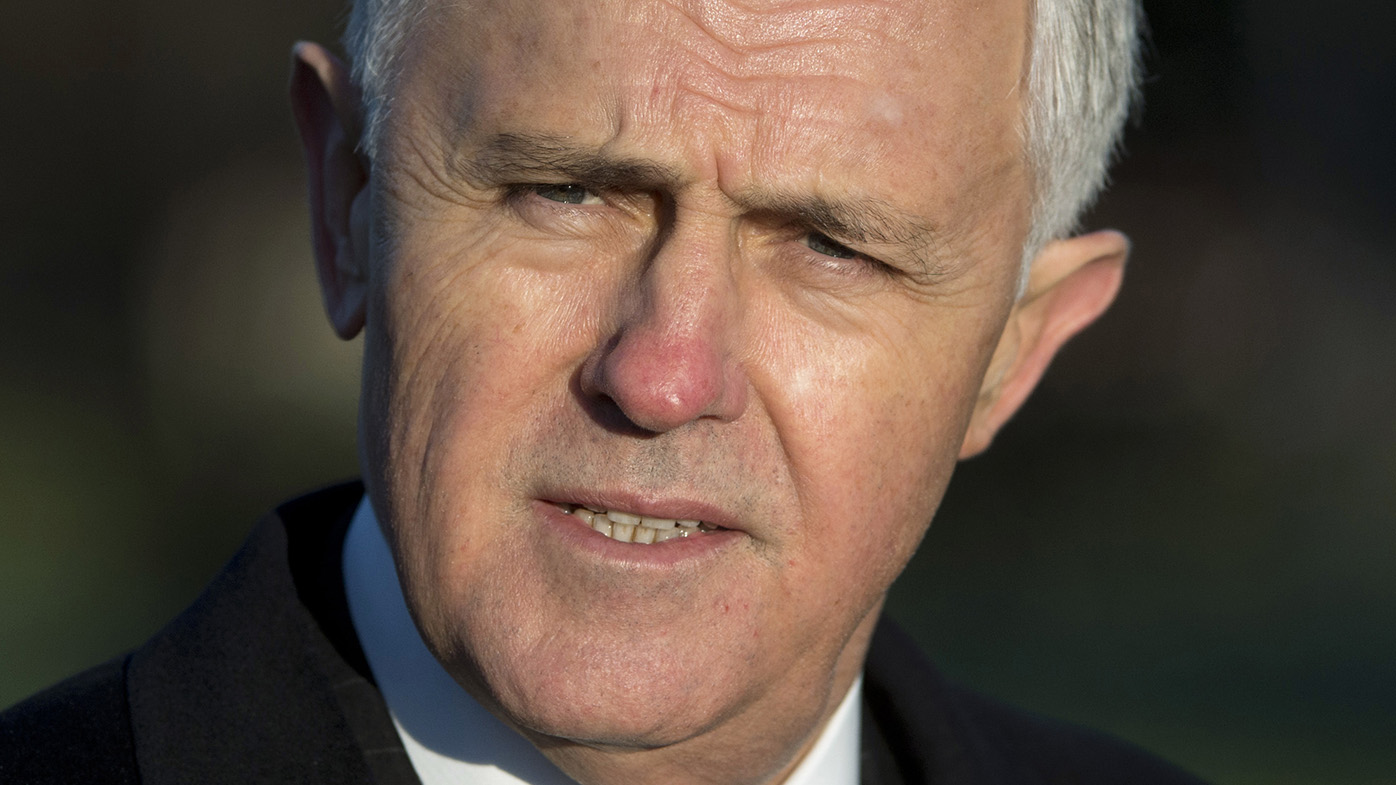 """Current Prime Minister Malcolm Turnbull urged Australians to vote """"Yes"""" on Thursday."""