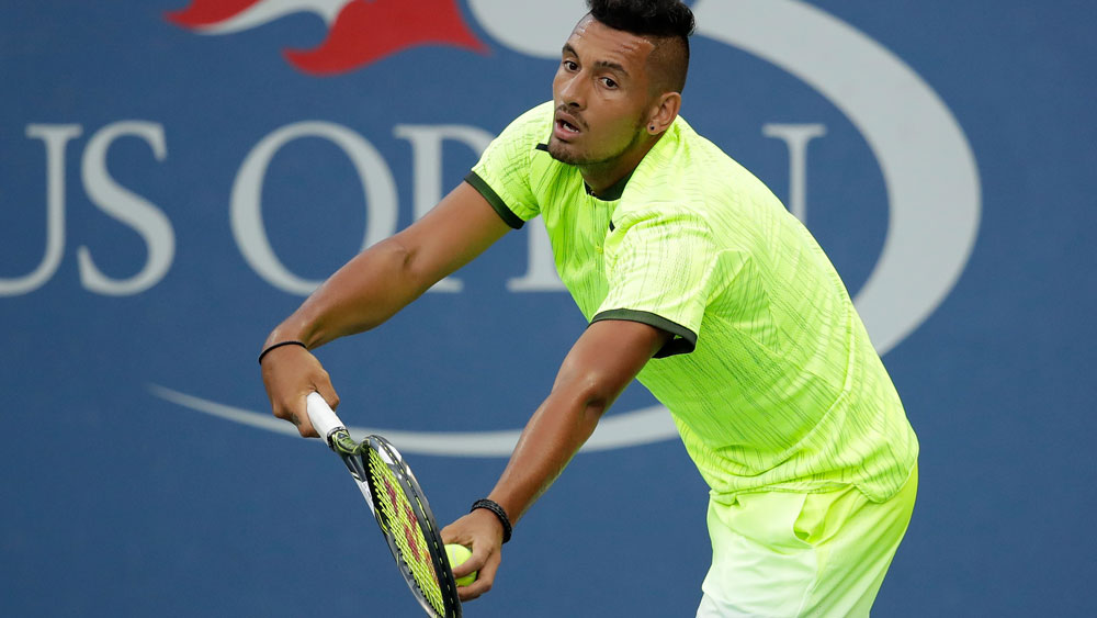 Kyrgios makes confident start to US Open