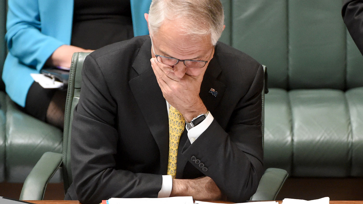 Prime Minister Malcolm Turnbull during Question Time. (AAP)