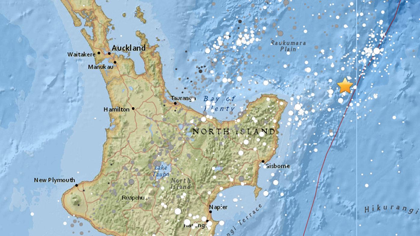 Worst of NZ East Coast tsunami over