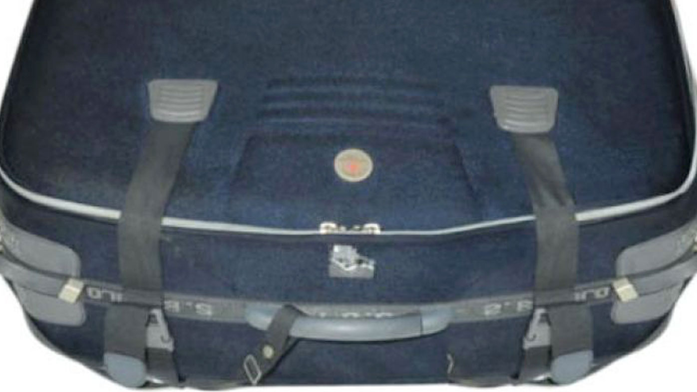 An image of the suitcase. (Supplied)