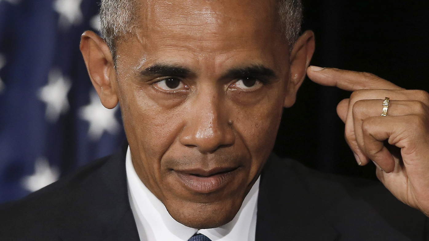 US President Barack Obama. (AAP)