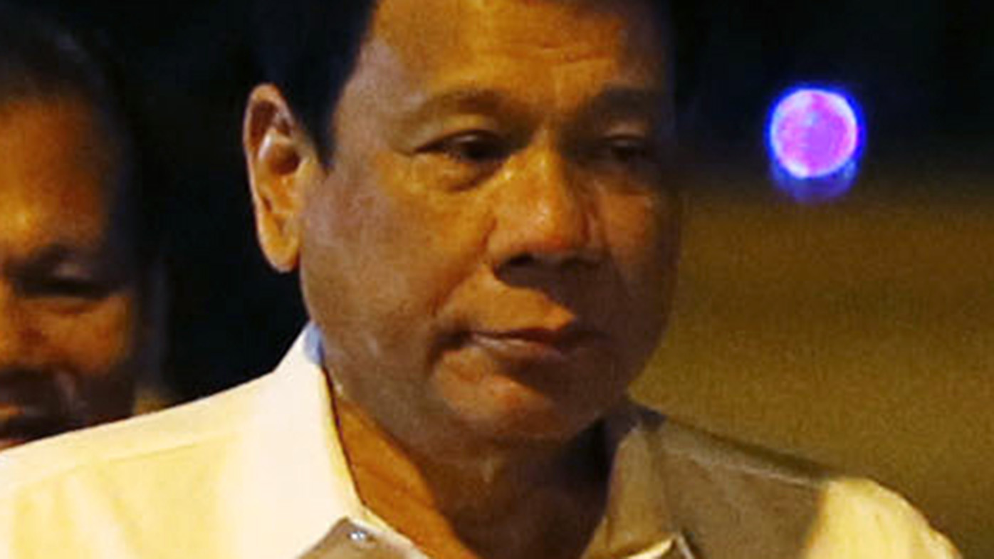 Philippines president calls Obama 'son of a w----'