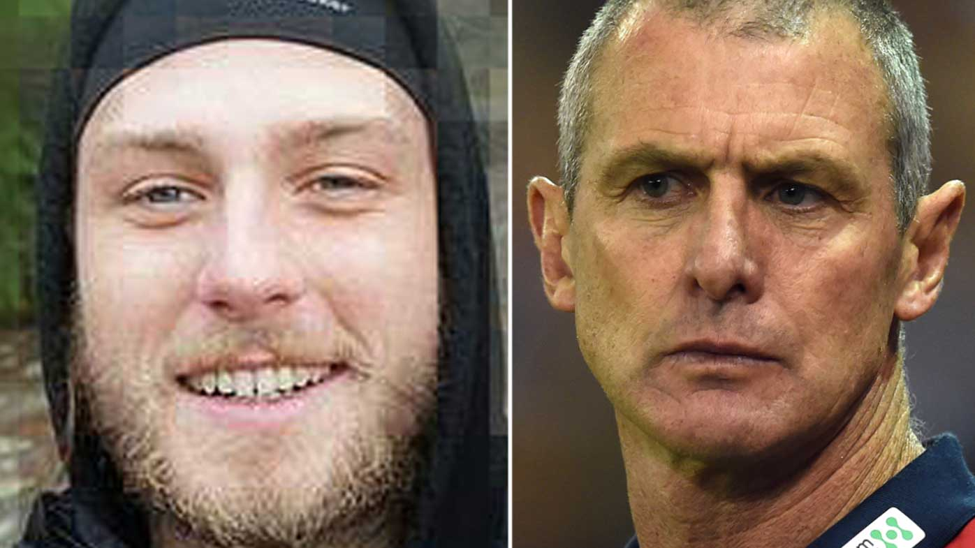 Court releases chilling text messages Cy Walsh sent before stabbing his father