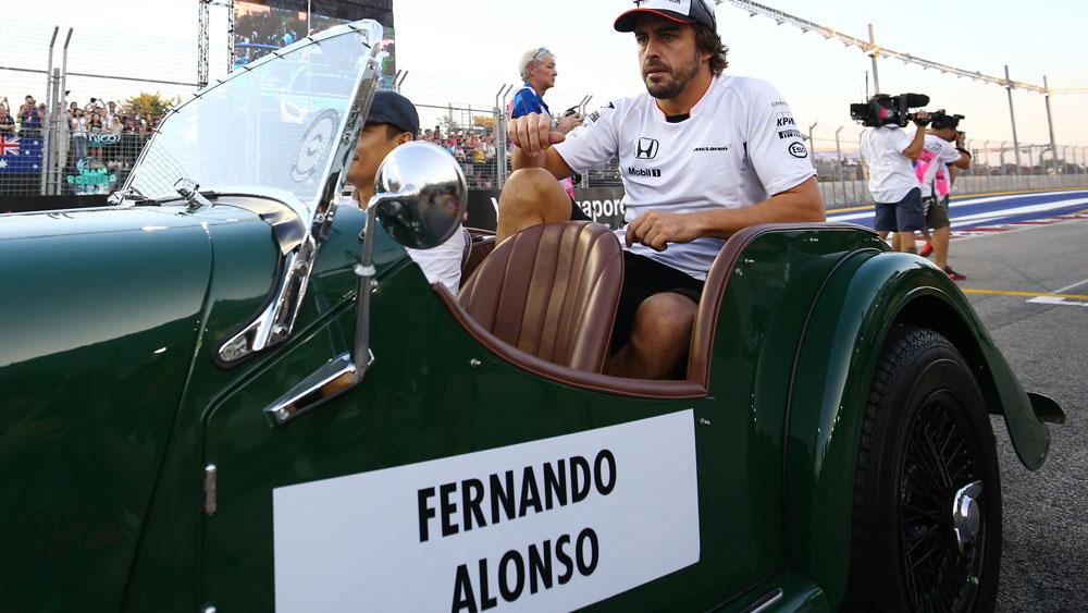 Fernando Alonso. (AAP)