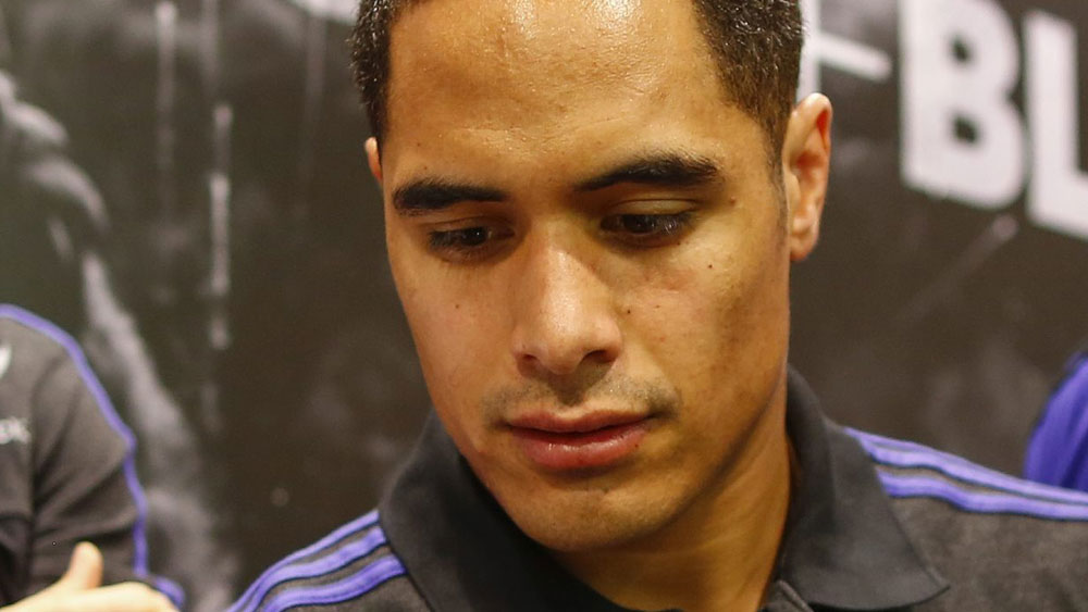 All Blacks superstar Aaron Smith. (AAP)