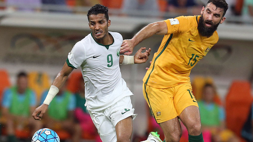 Socceroos in thrilling draw with Saudi Arabia