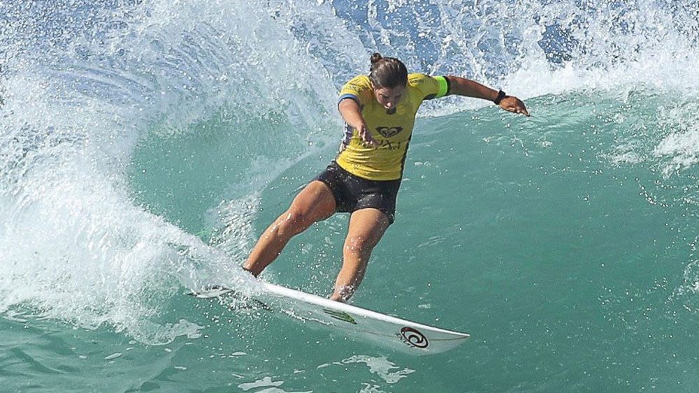 Australian surfer Tyler Wright. (AAP)