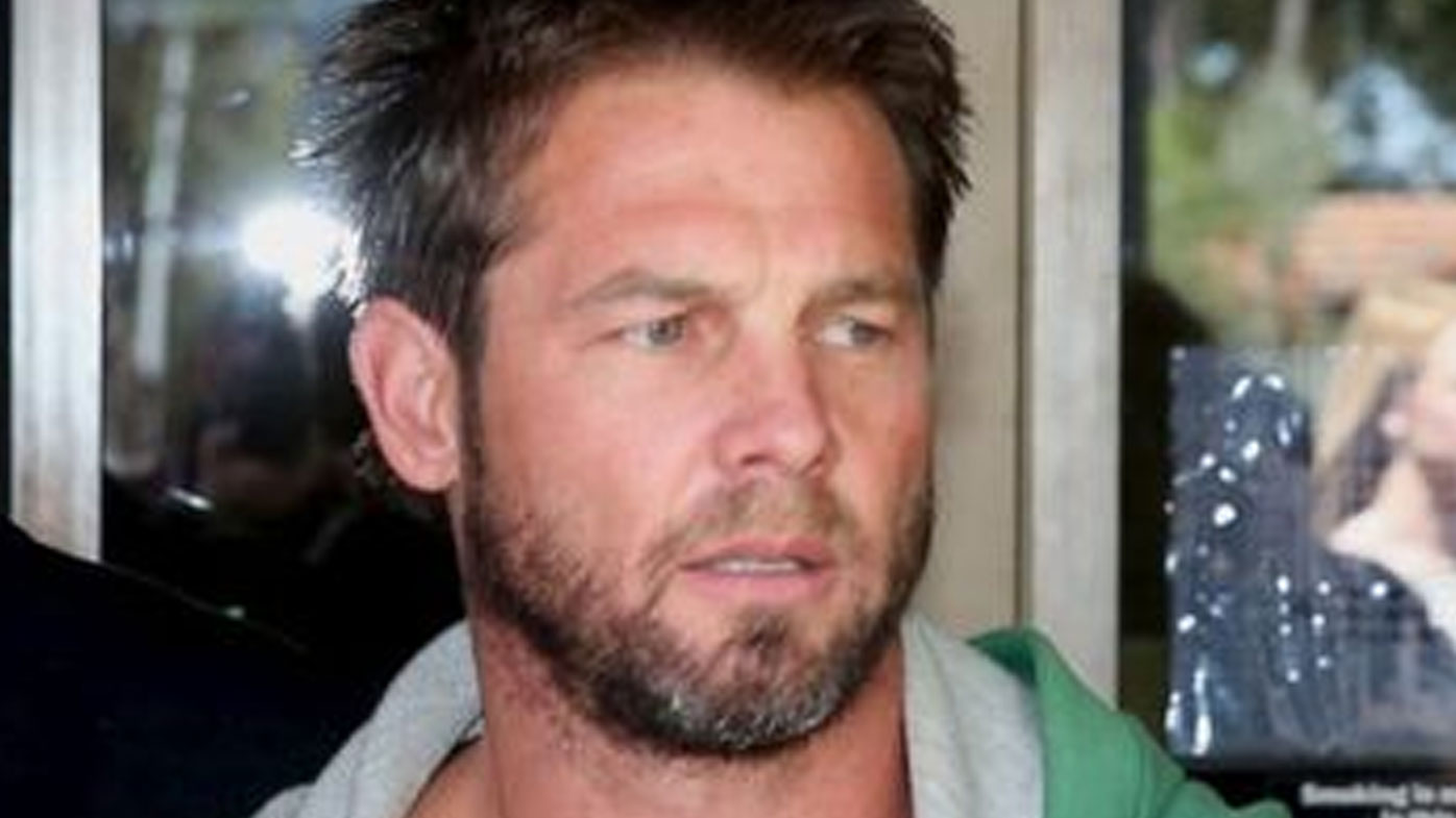 Ben Cousins is in hospital under police guard. (AAP)
