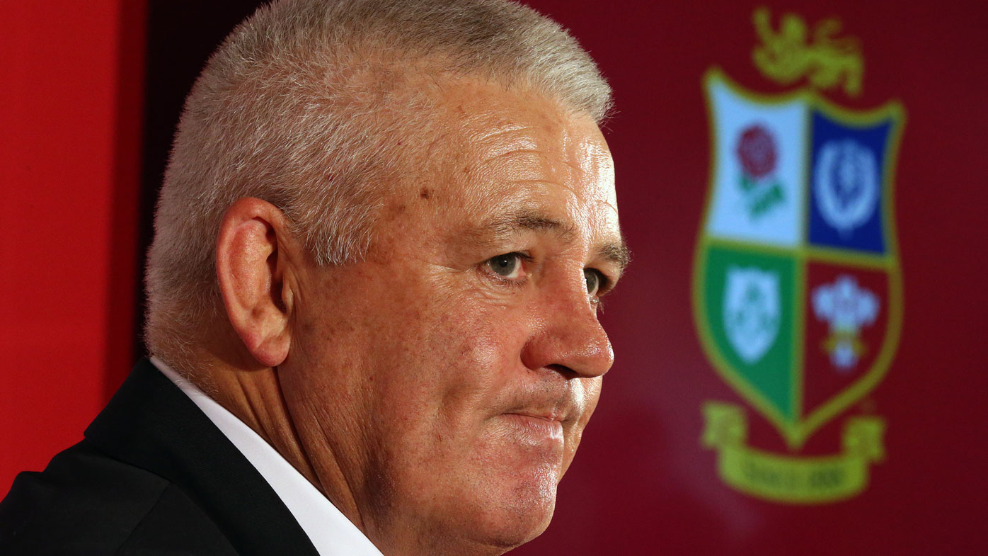 Lions coach Warren Gatland has the last laugh