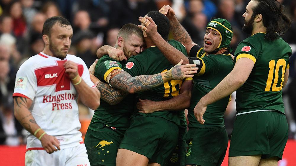 Ruthless Kangaroos see off England