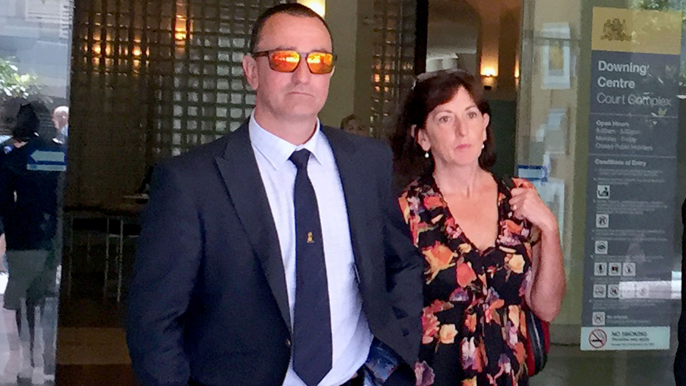 Senior NSW cop 'was like a raging bull', allegedly abused ex-partner tells court