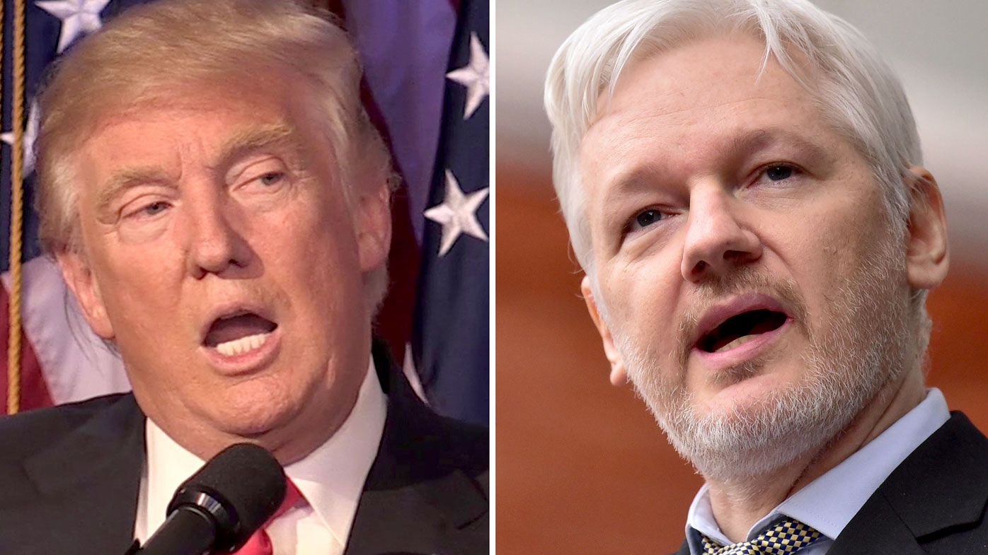 Julian Assange nudges ahead of Donald Trump as Time's person of 2016