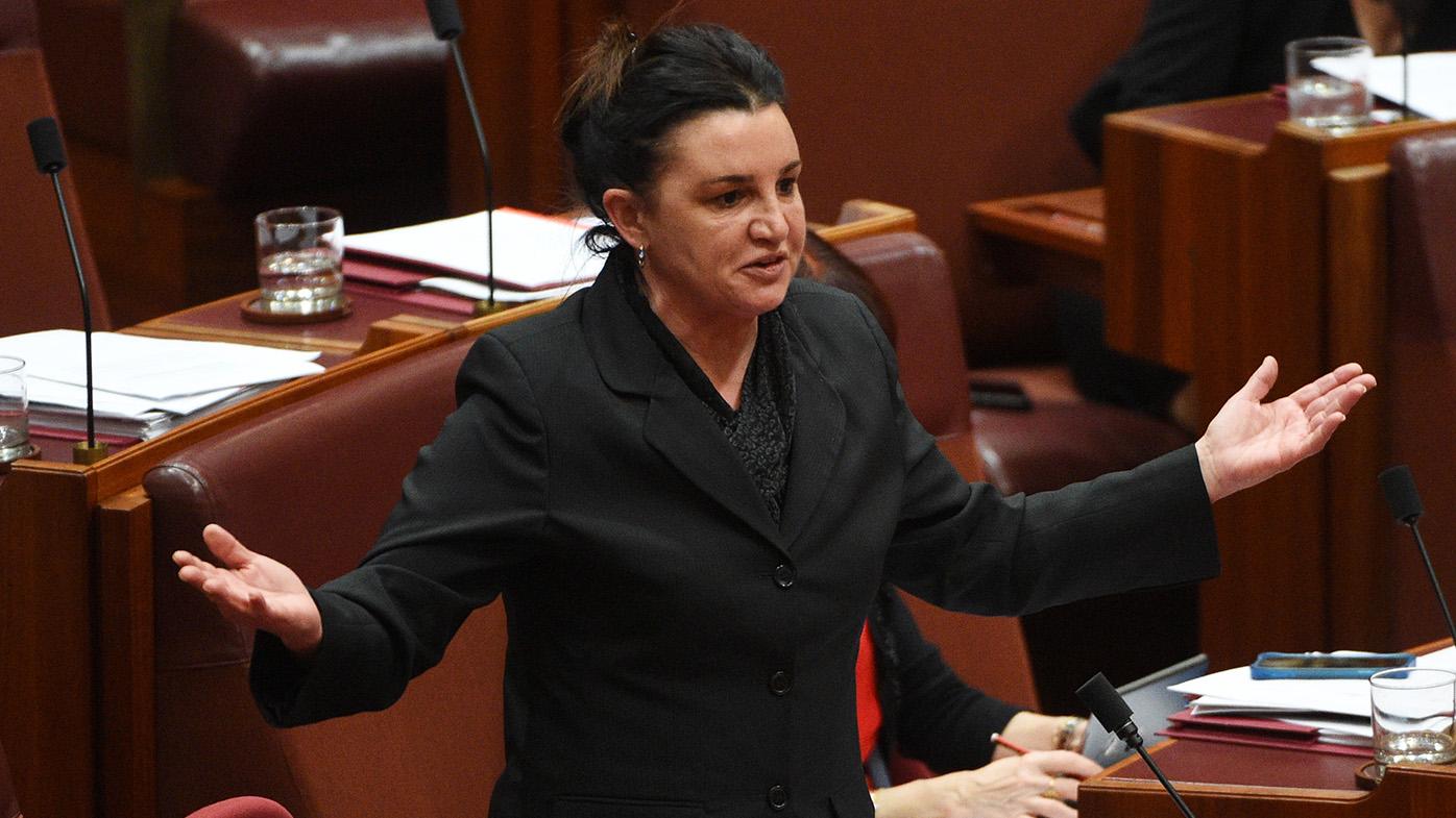 Seven defends reporter from Senator attack