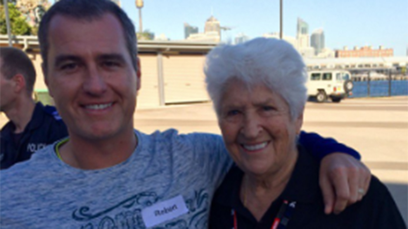 Ovadia with Dawn Fraser. (Twitter)