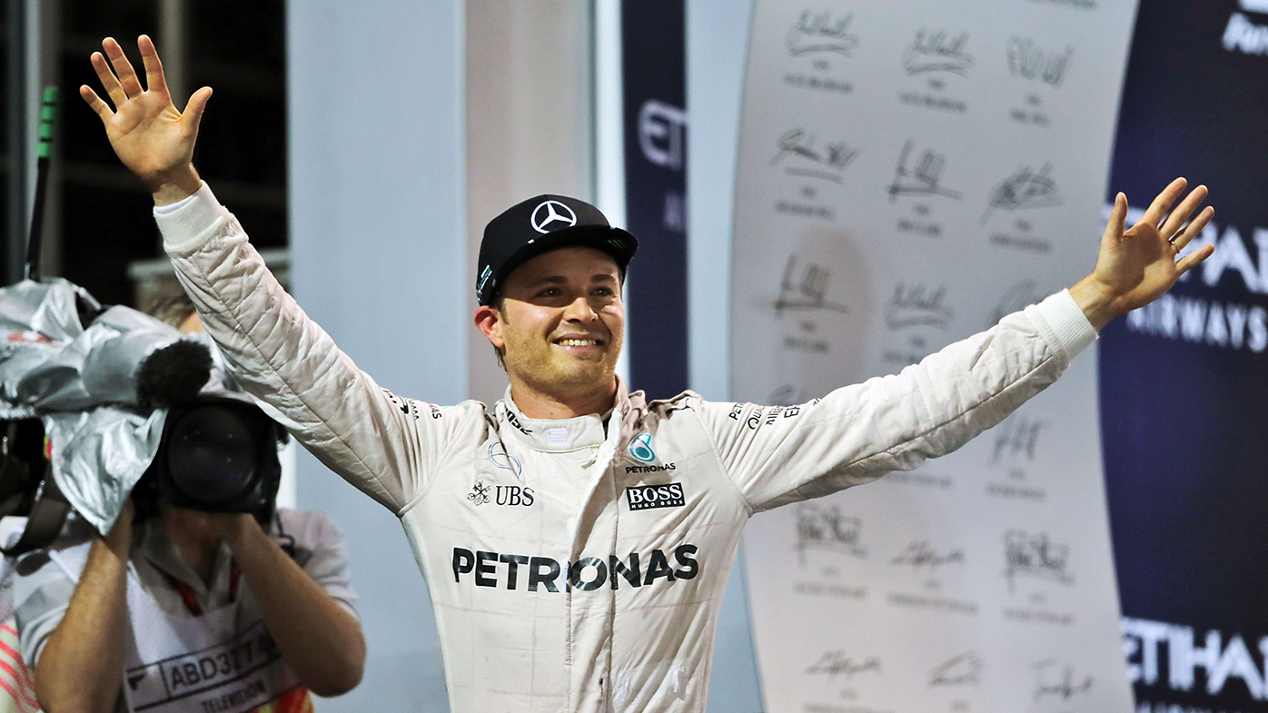 Nico Rosberg wins F1 world title