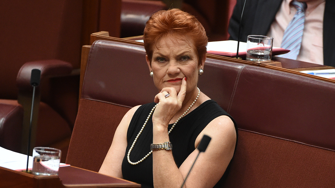 Security fears cancel Hanson's Melbourne meeting