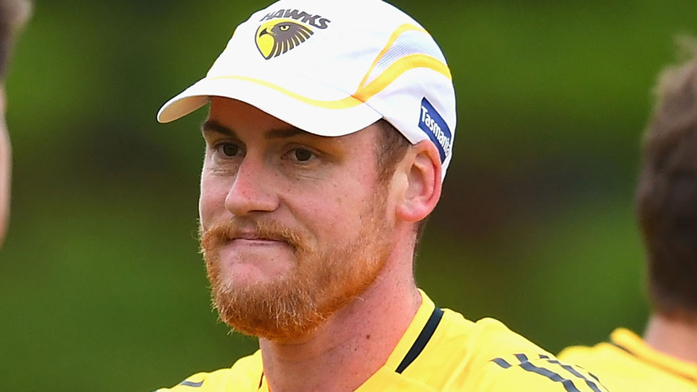 Jarryd Roughead announces he's cancer free and starting AFL return