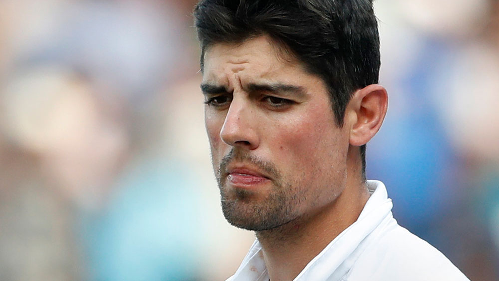 Alistair Cook. (AAP)