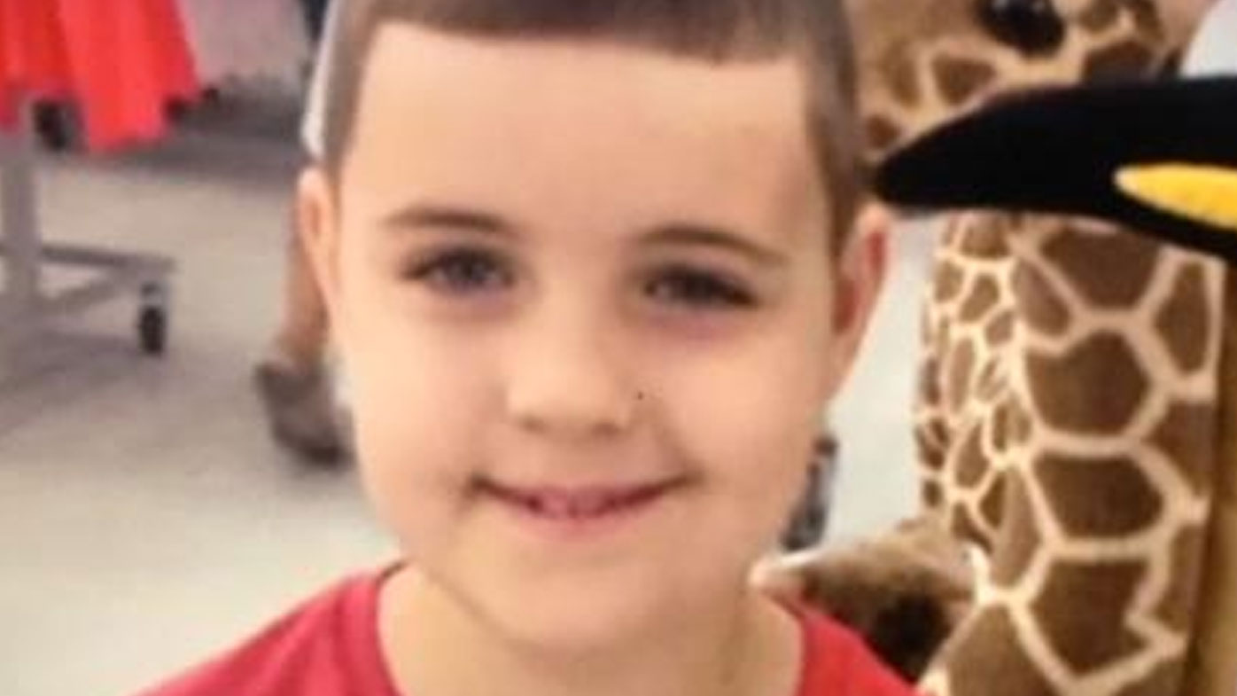 Josiah Sisson, 9, was fatally struck by a ute on Christmas Day. (9NEWS)