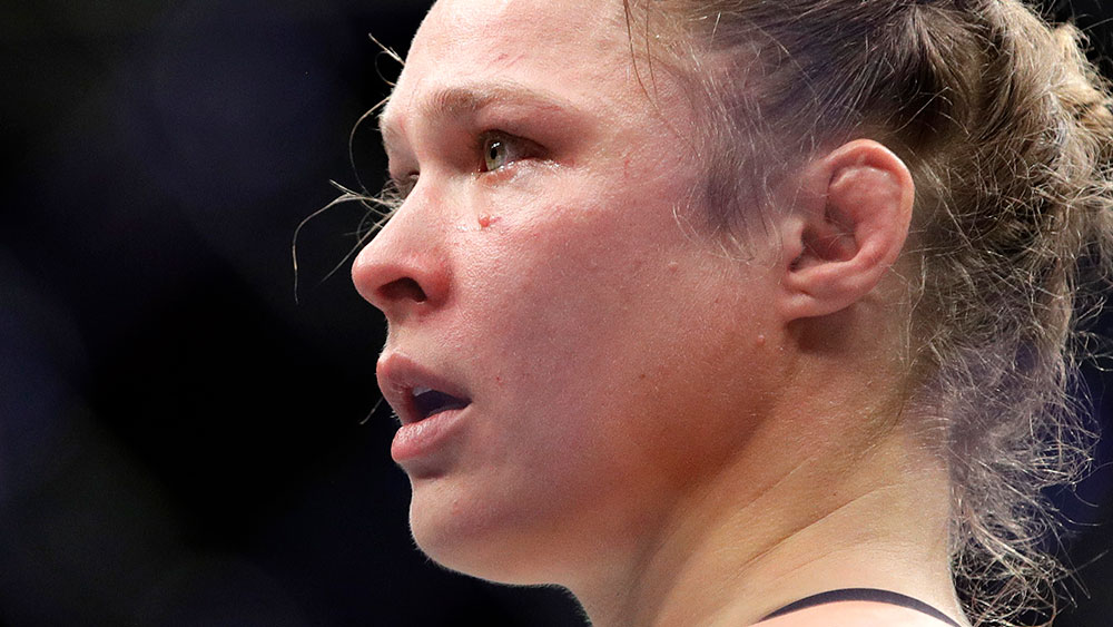 Ronda Rousey. (AAP)