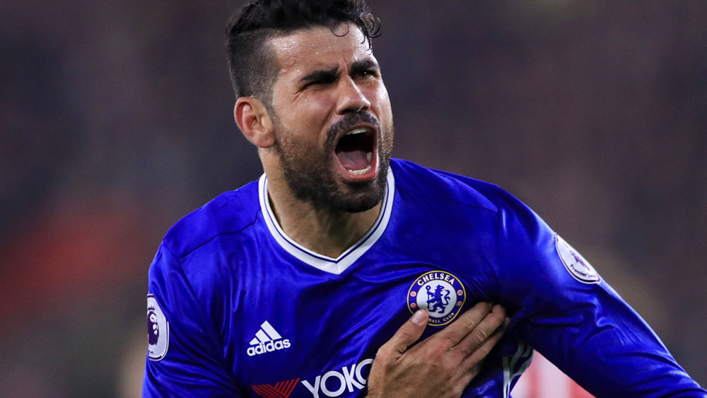 Diego Costa. (AAP)