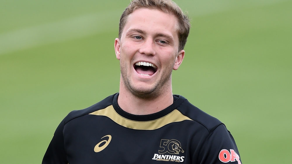 Panthers captain Matt Moylan. (AAP)