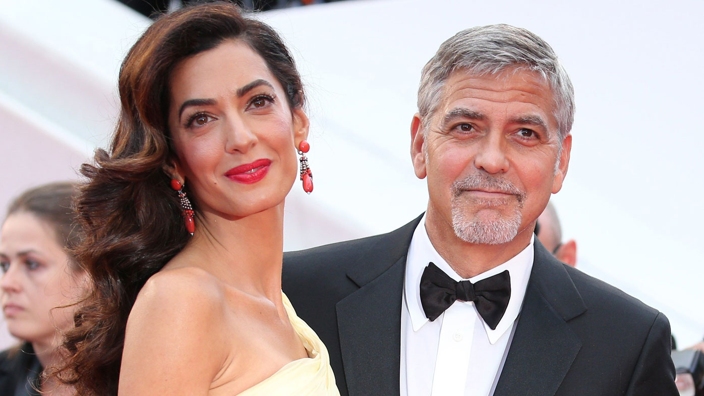 Amal Clooney is pregnant with twins. (Supplied)