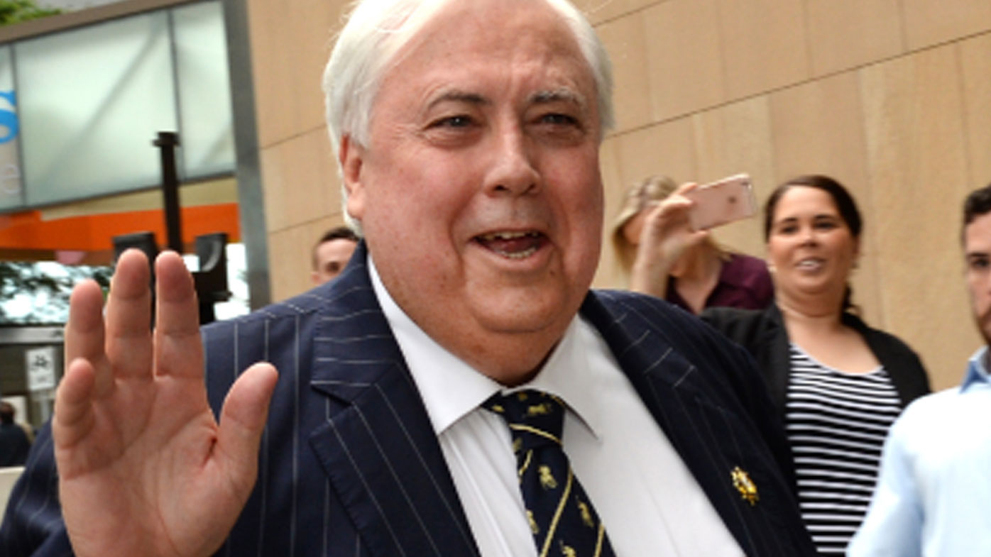 Clive Palmer says he is taking PM Turnbull to court over Queensland Nickel collapse