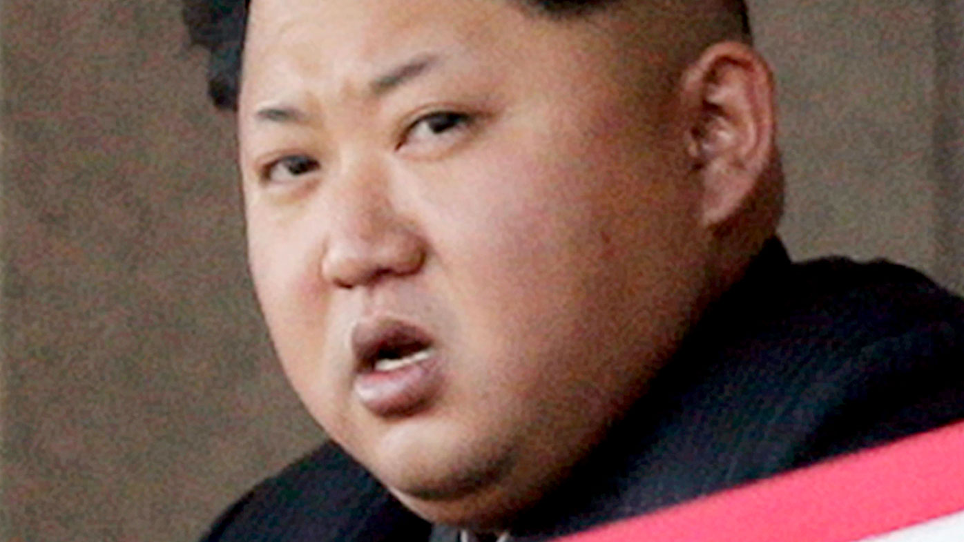 North Korean leader Kim Jong-Un. (AAP)