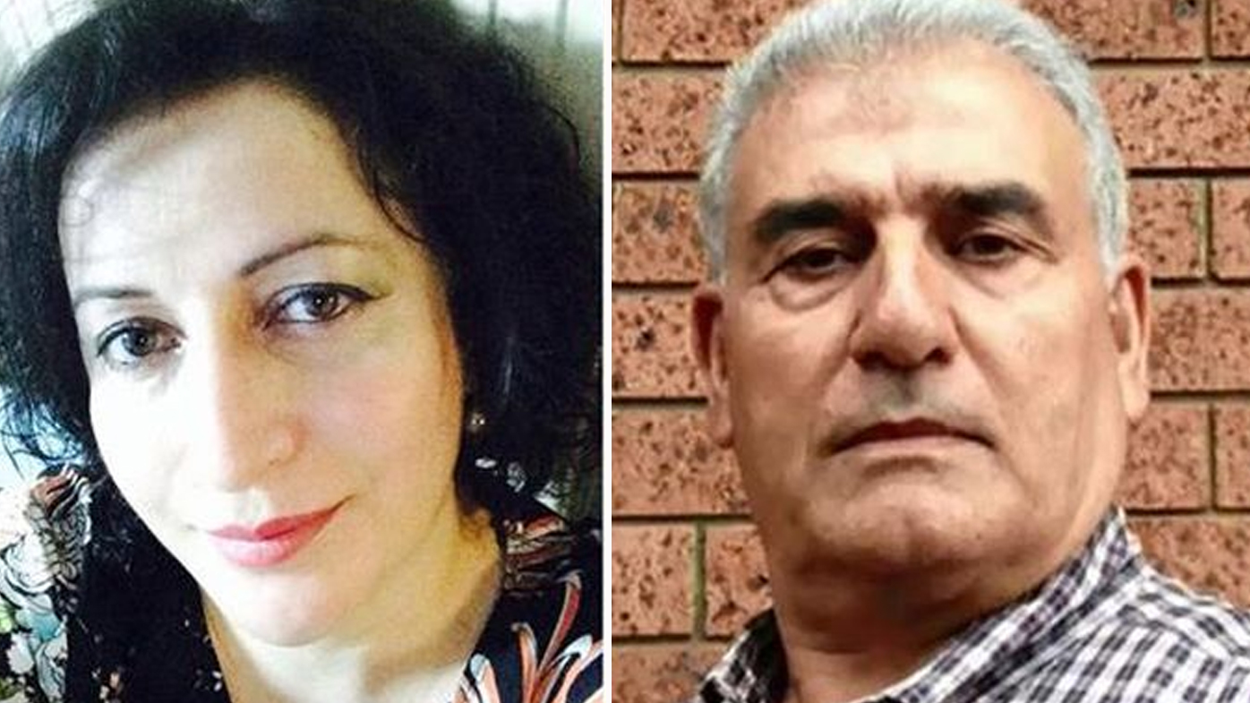 Haydar's wife sustained 30 injuries in the attack. (Supplied)