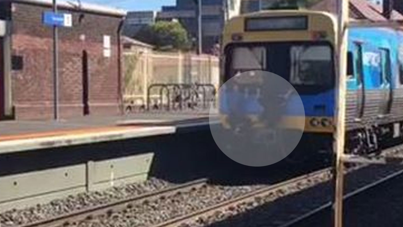 Metro Trains Melbourne has confirmed the incident is being investigated. (9NEWS)