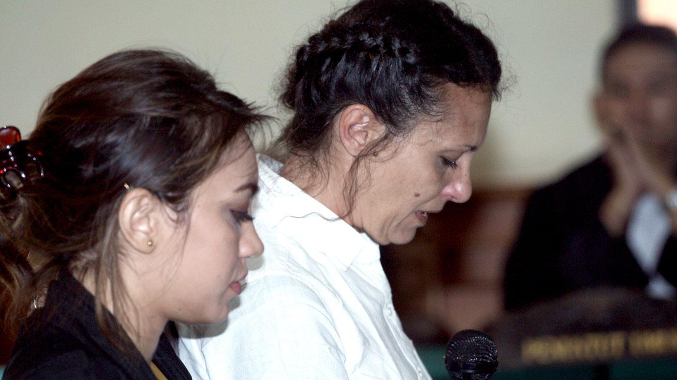 Australian mum Sara Connor gives her final plea. (AAP)