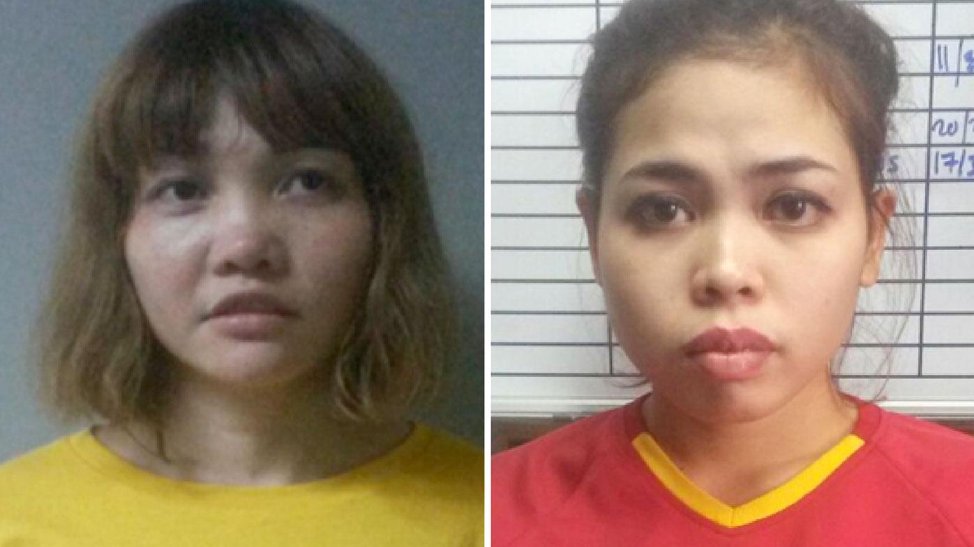Doan Thi Huong (left) and Siti Aishah. (AAP)