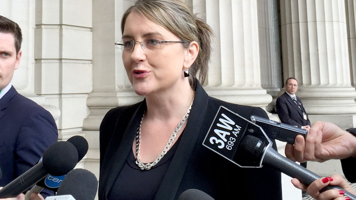 A file photograph of Public Transport Minister Jacinta Allan. (AAP)