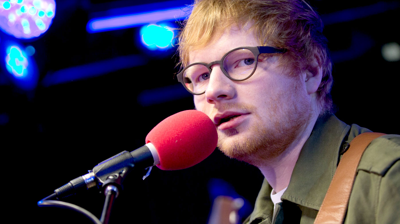 Ed Sheeran still thinking out loud, mostly about love