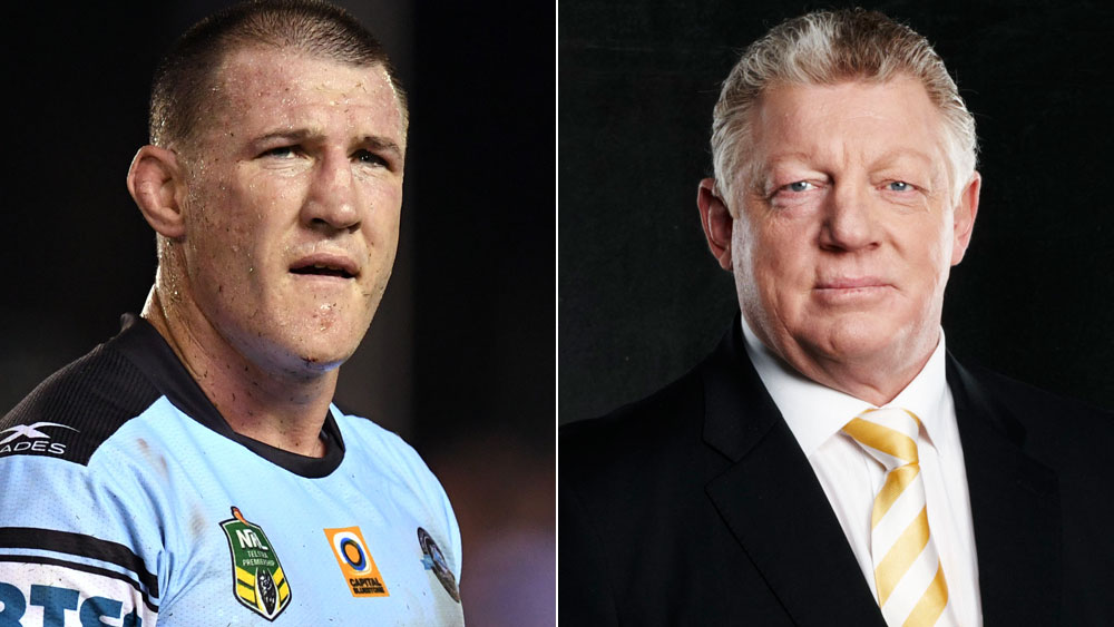 Paul Gallen describes Phil Gould's comments over soft title as 'insulting'