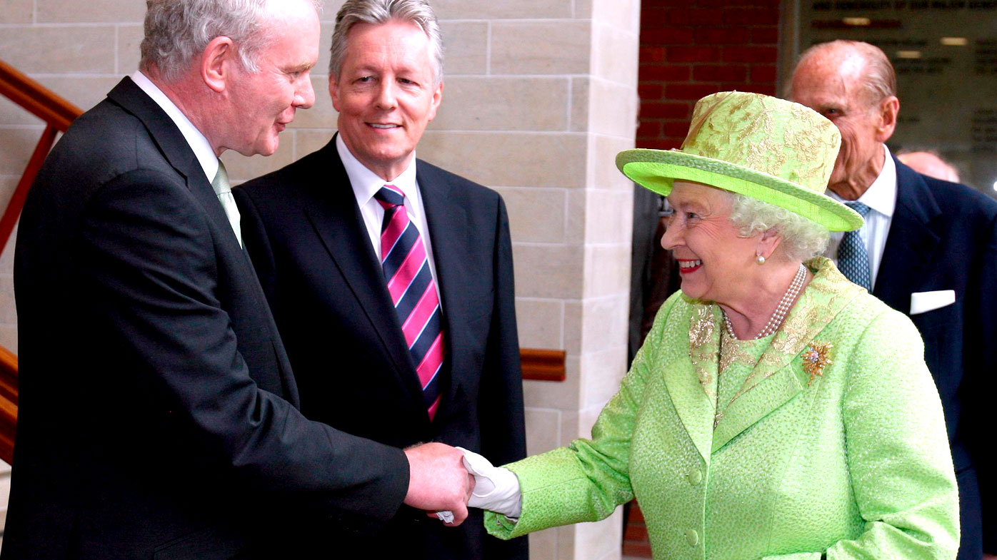 McGuinness and the Queen: 'A pretty historic handshake'