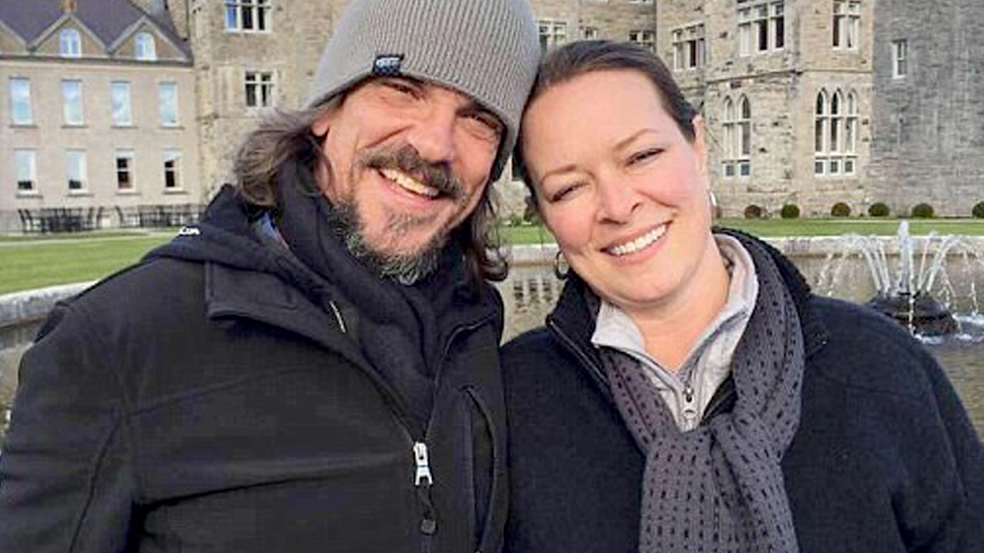 Kurt Cochran (left) was killed in the London terror attack while he holidayed with his wife, Melissa Payne Cochran, from Utah in the US. (Supplied)
