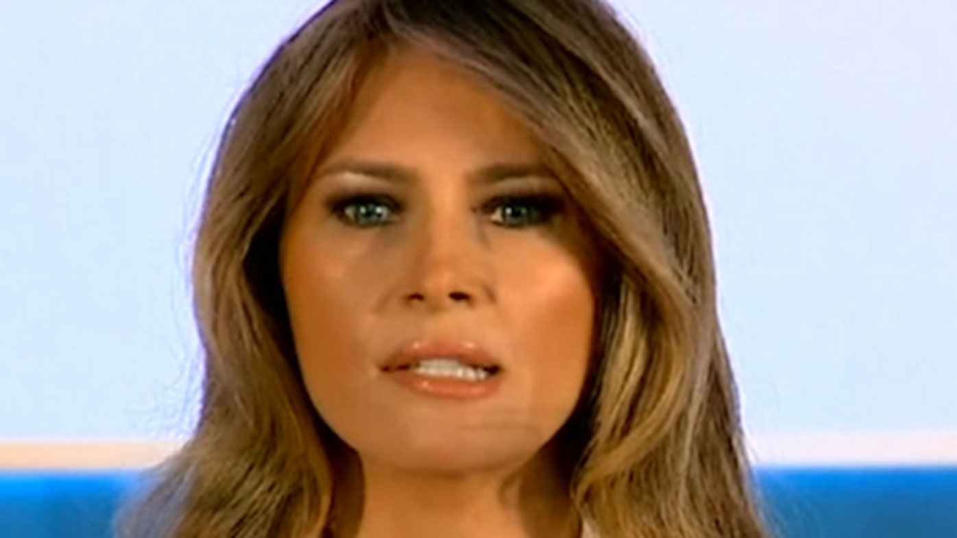 Melania Trump 'Wasn't Aware' Her Twitter Account Was Shading Her Husband