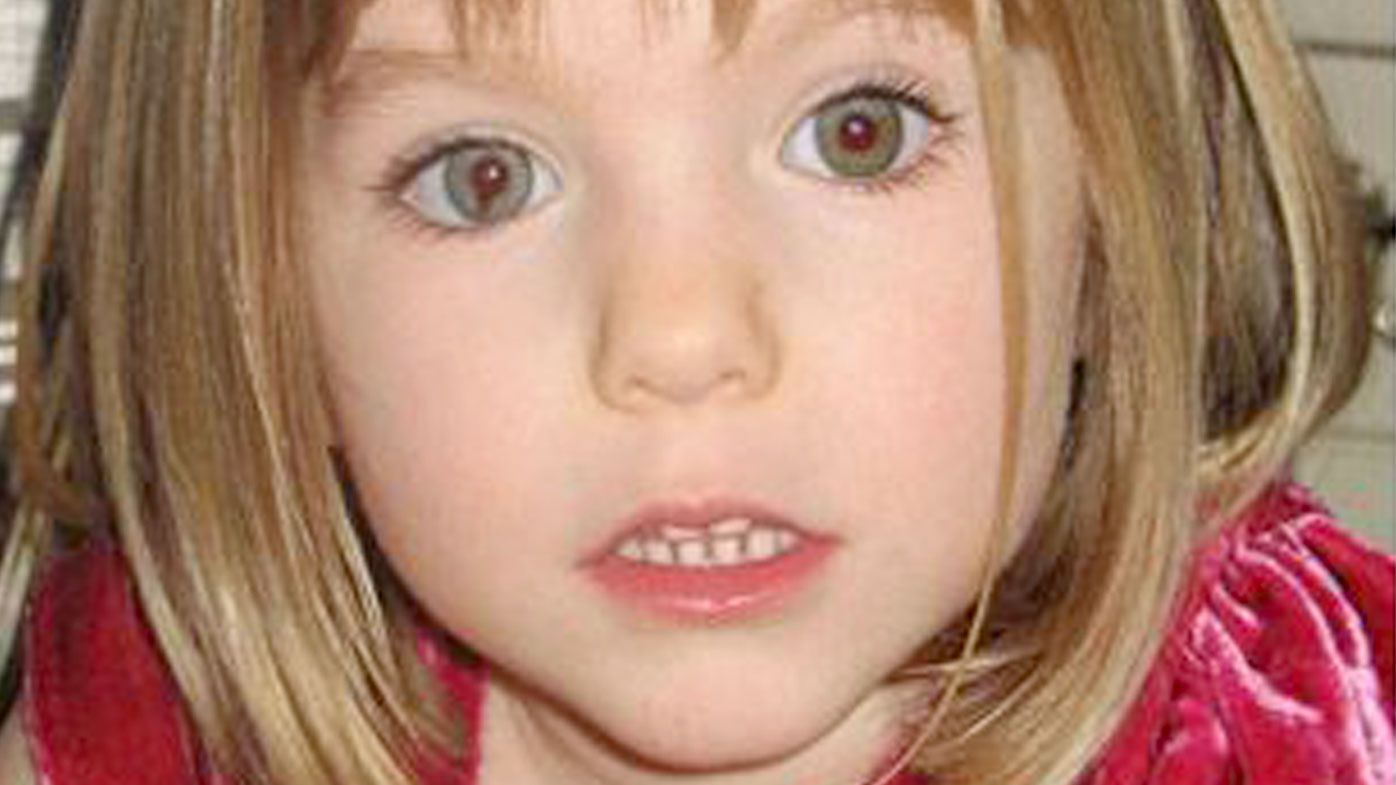 Madeleine Beth McCann: still missing since May 3, 2007. Source: AFP